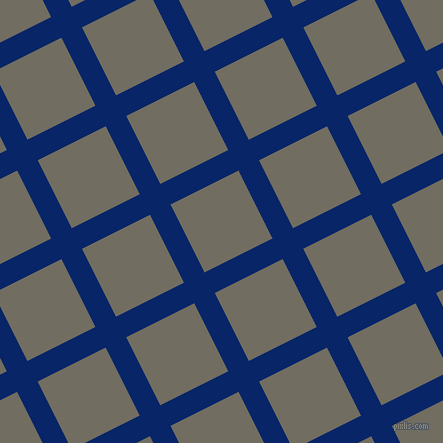 27/117 degree angle diagonal checkered chequered lines, 23 pixel line width, 76 pixel square size, Sapphire and Flint plaid checkered seamless tileable