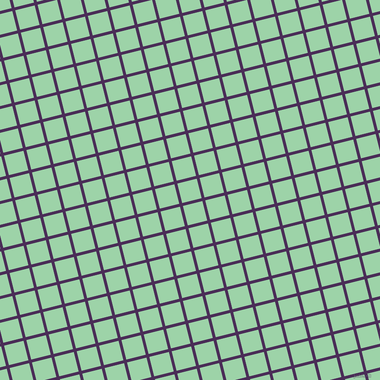 14/104 degree angle diagonal checkered chequered lines, 6 pixel lines width, 41 pixel square size, Scarlet Gum and Chinook plaid checkered seamless tileable