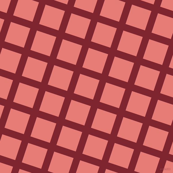 72/162 degree angle diagonal checkered chequered lines, 24 pixel line width, 71 pixel square size, Scarlett and Geraldine plaid checkered seamless tileable