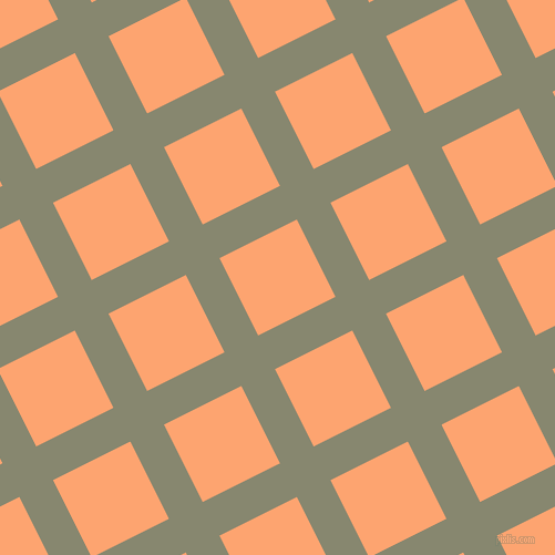 27/117 degree angle diagonal checkered chequered lines, 34 pixel lines width, 78 pixel square size, Schist and Hit Pink plaid checkered seamless tileable