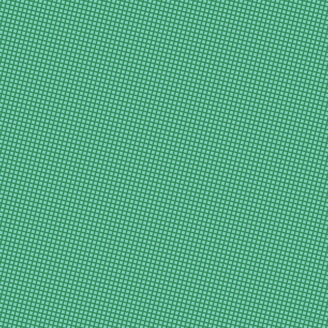76/166 degree angle diagonal checkered chequered lines, 3 pixel lines width, 6 pixel square size, Sea Green and Bermuda plaid checkered seamless tileable