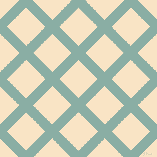 45/135 degree angle diagonal checkered chequered lines, 33 pixel line width, 91 pixel square size, Sea Nymph and Egg Sour plaid checkered seamless tileable