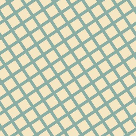 34/124 degree angle diagonal checkered chequered lines, 10 pixel line width, 31 pixel square size, Sea Nymph and Pipi plaid checkered seamless tileable