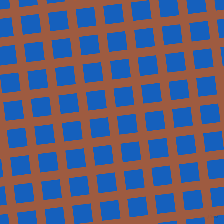 7/97 degree angle diagonal checkered chequered lines, 31 pixel lines width, 63 pixel square sizeSepia and Denim plaid checkered seamless tileable