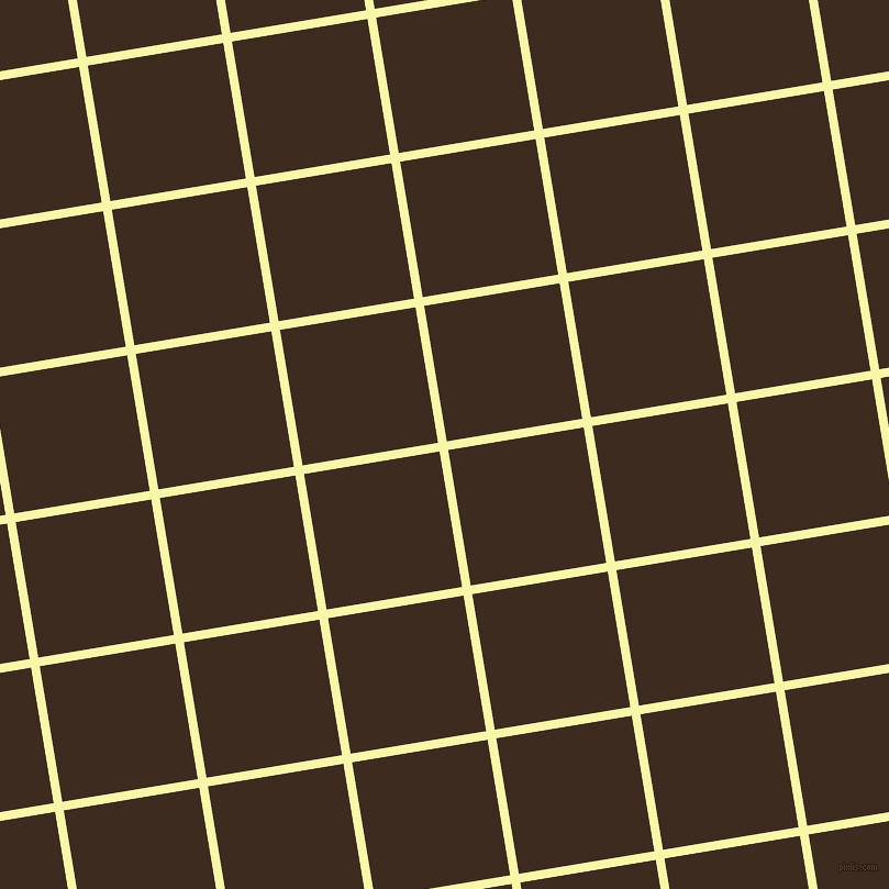 9/99 degree angle diagonal checkered chequered lines, 8 pixel lines width, 125 pixel square size, Shalimar and Bistre plaid checkered seamless tileable
