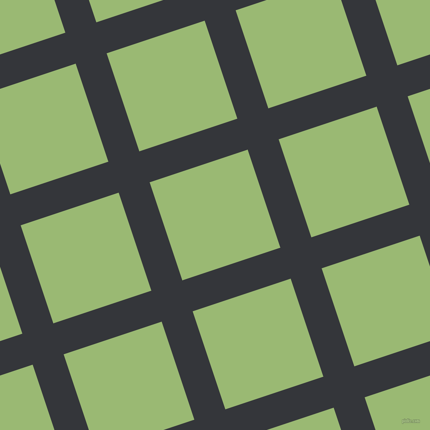 18/108 degree angle diagonal checkered chequered lines, 65 pixel line width, 206 pixel square size, Shark and Olivine plaid checkered seamless tileable