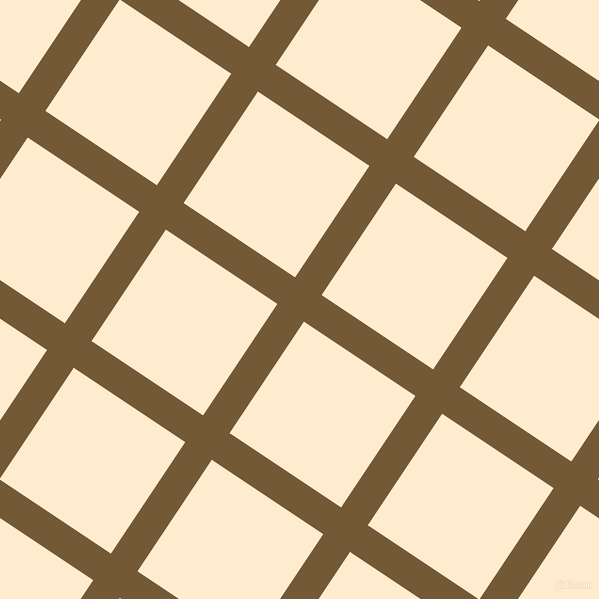 56/146 degree angle diagonal checkered chequered lines, 32 pixel line width, 134 pixel square sizeShingle Fawn and Blanched Almond plaid checkered seamless tileable