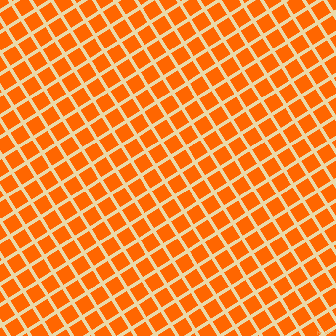 32/122 degree angle diagonal checkered chequered lines, 7 pixel lines width, 29 pixel square size, Sidecar and Safety Orange plaid checkered seamless tileable