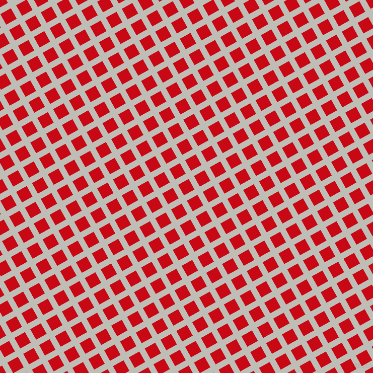29/119 degree angle diagonal checkered chequered lines, 12 pixel lines width, 24 pixel square size, Silver Sand and Venetian Red plaid checkered seamless tileable