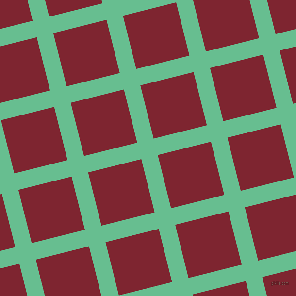14/104 degree angle diagonal checkered chequered lines, 35 pixel line width, 113 pixel square size, Silver Tree and Scarlett plaid checkered seamless tileable