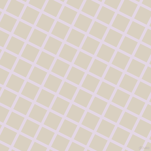 63/153 degree angle diagonal checkered chequered lines, 10 pixel line width, 49 pixel square size, Snuff and Blanc plaid checkered seamless tileable
