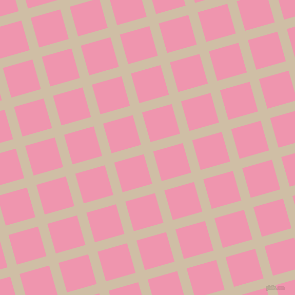16/106 degree angle diagonal checkered chequered lines, 19 pixel line width, 60 pixel square size, Soft Amber and Illusion plaid checkered seamless tileable