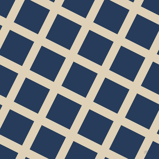 63/153 degree angle diagonal checkered chequered lines, 29 pixel lines width, 93 pixel square size, Spanish White and Catalina Blue plaid checkered seamless tileable