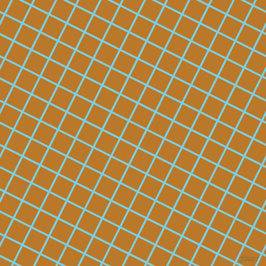 63/153 degree angle diagonal checkered chequered lines, 4 pixel line width, 35 pixel square size, Spray and Pirate Gold plaid checkered seamless tileable