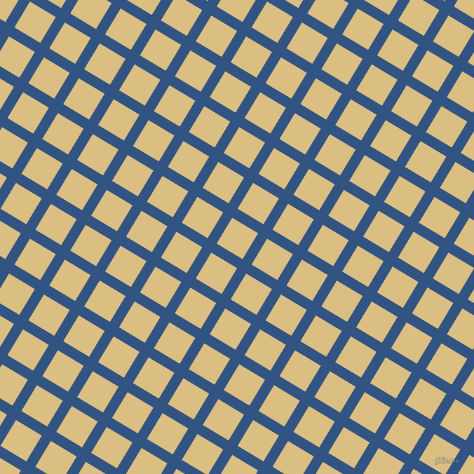 59/149 degree angle diagonal checkered chequered lines, 15 pixel lines width, 43 pixel square size, St Tropaz and Straw plaid checkered seamless tileable