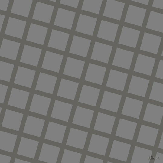 74/164 degree angle diagonal checkered chequered lines, 15 pixel lines width, 59 pixel square size, Storm Dust and Grey plaid checkered seamless tileable