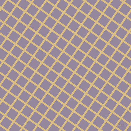55/145 degree angle diagonal checkered chequered lines, 6 pixel line width, 29 pixel square sizeStraw and Amethyst Smoke plaid checkered seamless tileable