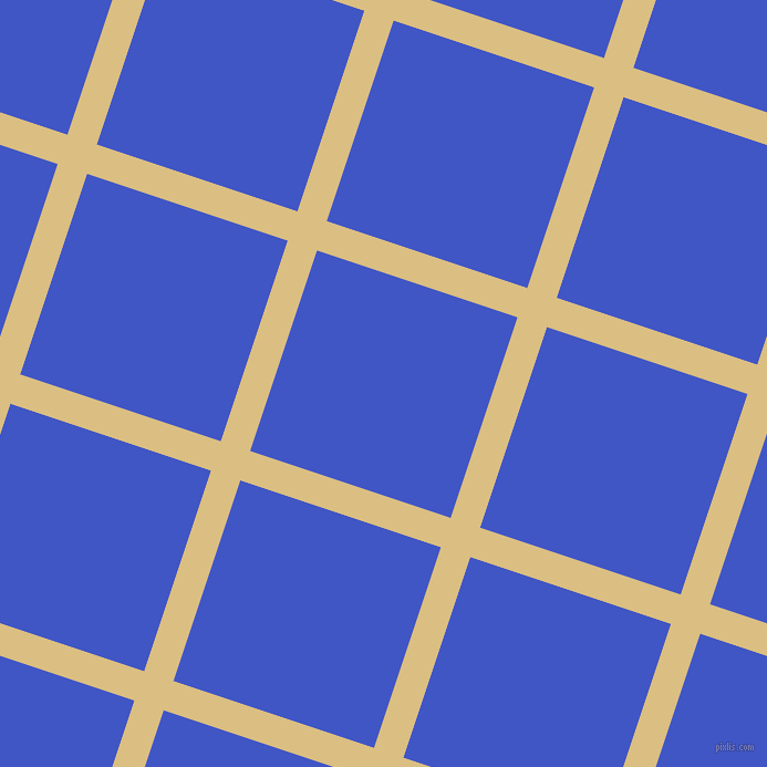 72/162 degree angle diagonal checkered chequered lines, 28 pixel line width, 191 pixel square size, Straw and Free Speech Blue plaid checkered seamless tileable