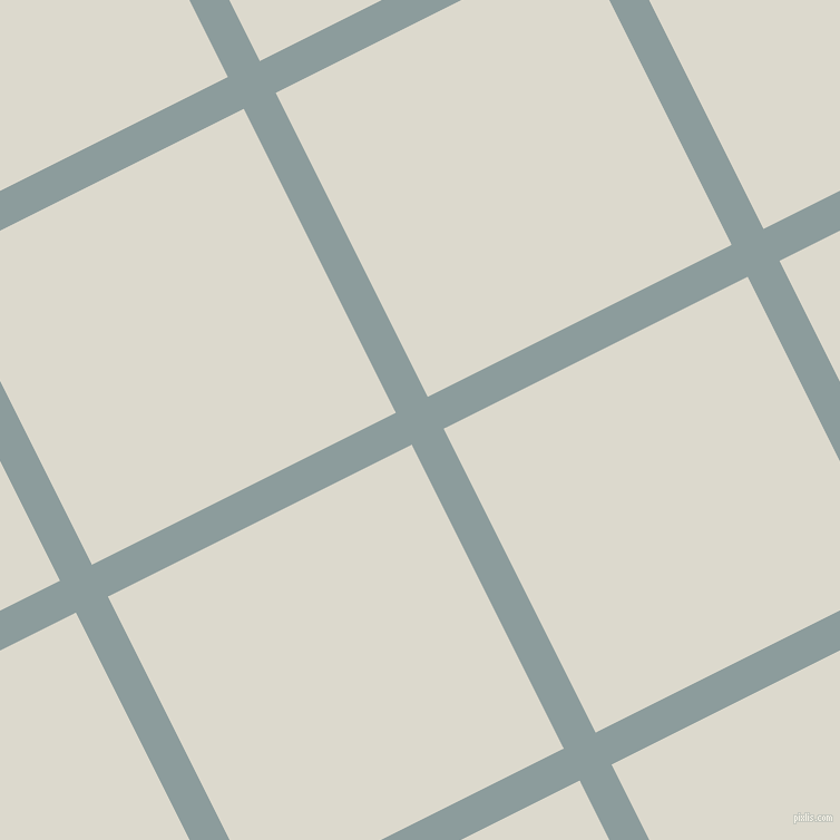27/117 degree angle diagonal checkered chequered lines, 32 pixel line width, 305 pixel square size, Submarine and Milk White plaid checkered seamless tileable