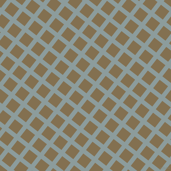 52/142 degree angle diagonal checkered chequered lines, 15 pixel lines width, 36 pixel square size, Submarine and Shadow plaid checkered seamless tileable