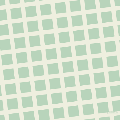 7/97 degree angle diagonal checkered chequered lines, 15 pixel line width, 37 pixel square size, Sugar Cane and Surf plaid checkered seamless tileable