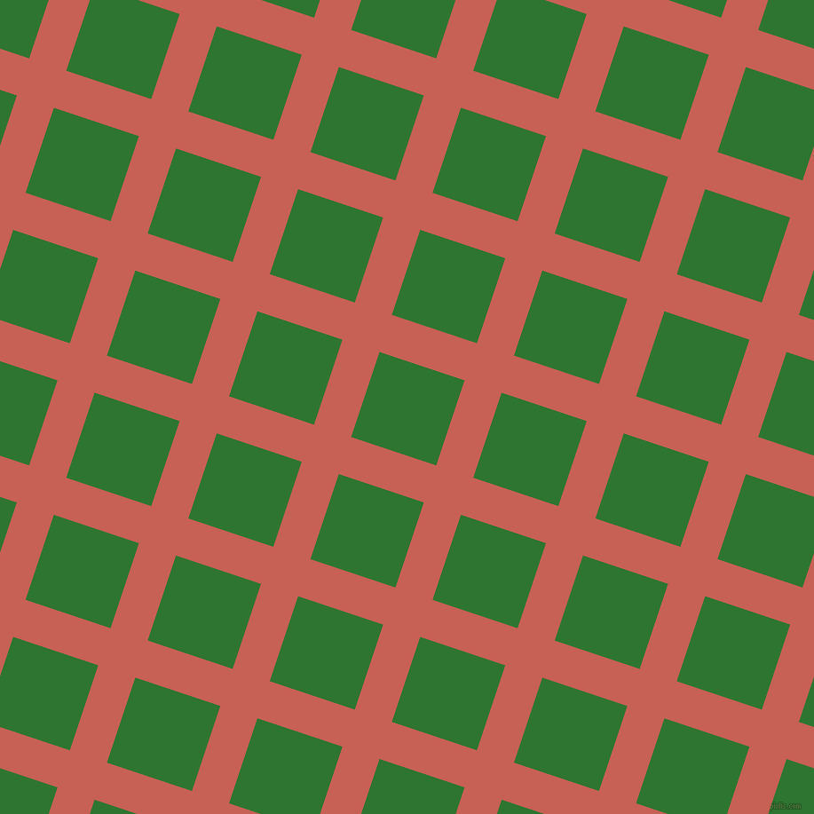 72/162 degree angle diagonal checkered chequered lines, 44 pixel lines width, 101 pixel square size, Sunglo and Japanese Laurel plaid checkered seamless tileable