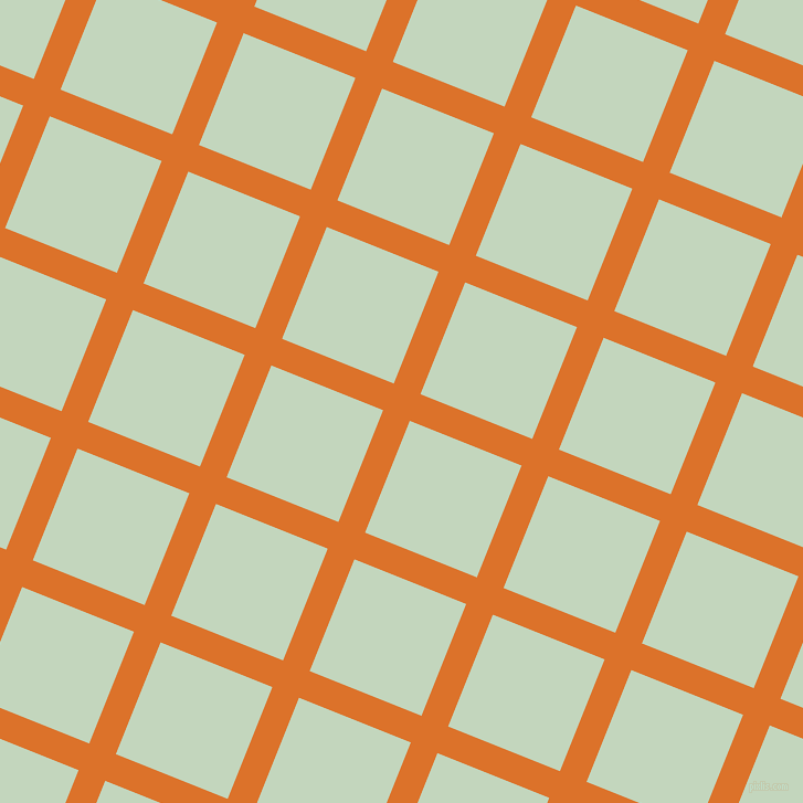 68/158 degree angle diagonal checkered chequered lines, 26 pixel line width, 109 pixel square size, Tahiti Gold and Surf Crest plaid checkered seamless tileable