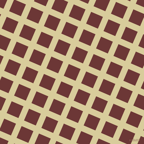 67/157 degree angle diagonal checkered chequered lines, 20 pixel line width, 42 pixel square size, Tahuna Sands and Sanguine Brown plaid checkered seamless tileable