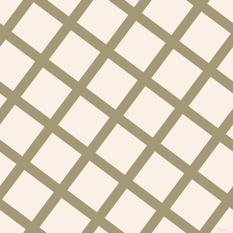 53/143 degree angle diagonal checkered chequered lines, 31 pixel lines width, 118 pixel square size, Tallow and Linen plaid checkered seamless tileable