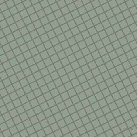 27/117 degree angle diagonal checkered chequered lines, 4 pixel line width, 23 pixel square size, Tapa and Pewter plaid checkered seamless tileable
