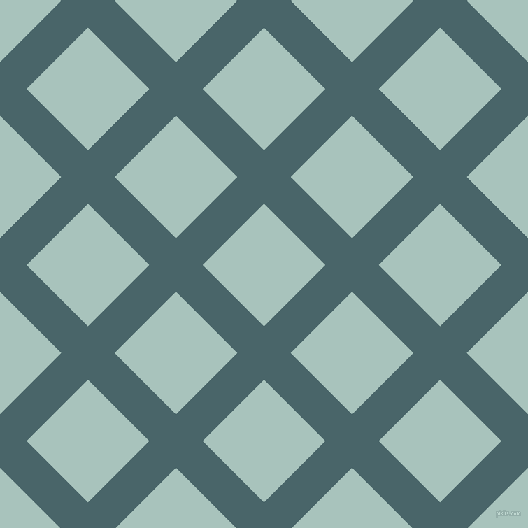 45/135 degree angle diagonal checkered chequered lines, 54 pixel line width, 124 pixel square size, Tax Break and Opal plaid checkered seamless tileable