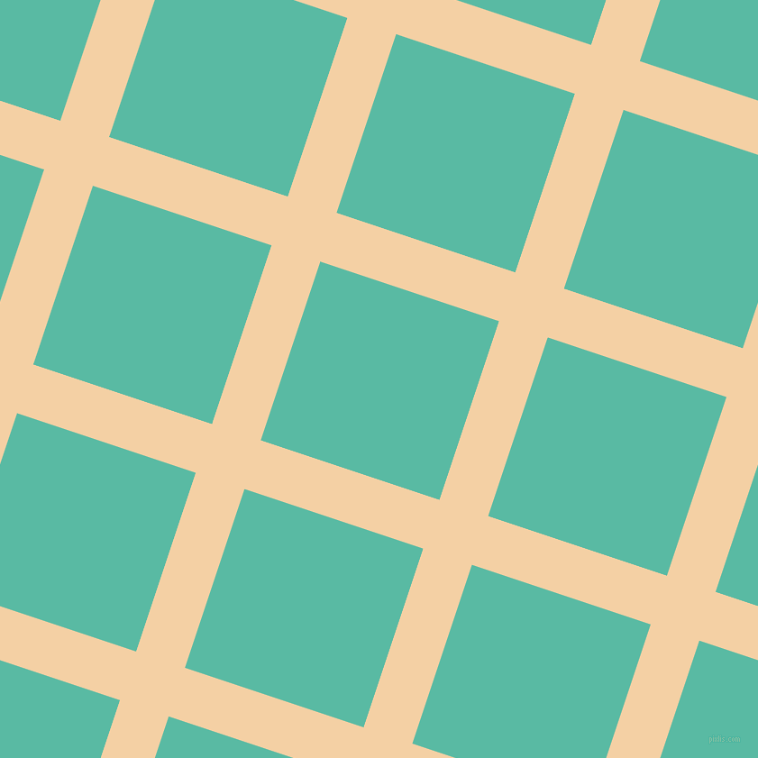 72/162 degree angle diagonal checkered chequered lines, 57 pixel line width, 209 pixel square size, Tequila and Puerto Rico plaid checkered seamless tileable