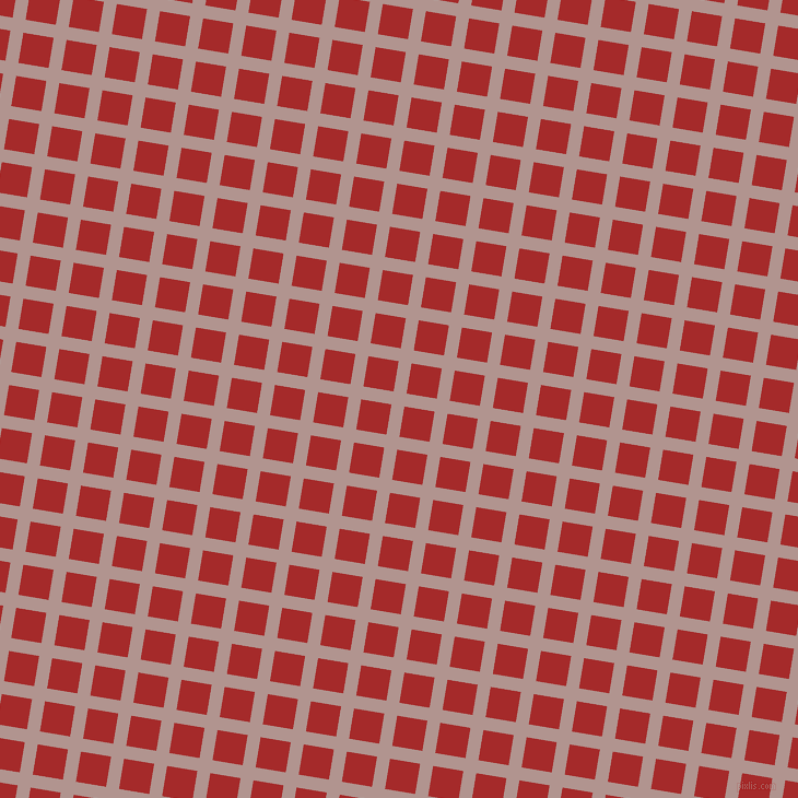 81/171 degree angle diagonal checkered chequered lines, 12 pixel line width, 28 pixel square size, Thatch and Brown plaid checkered seamless tileable
