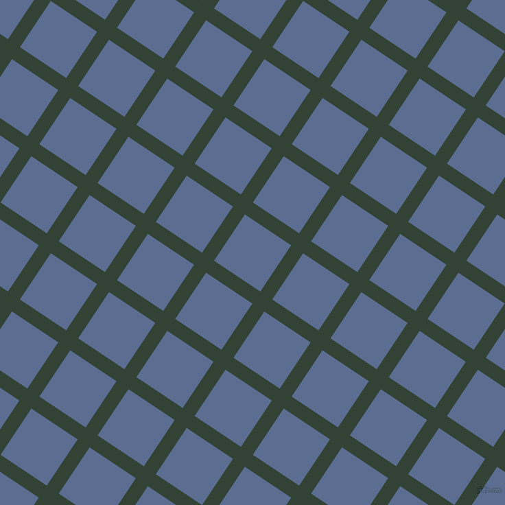 56/146 degree angle diagonal checkered chequered lines, 21 pixel lines width, 81 pixel square size, Timber Green and Waikawa Grey plaid checkered seamless tileable