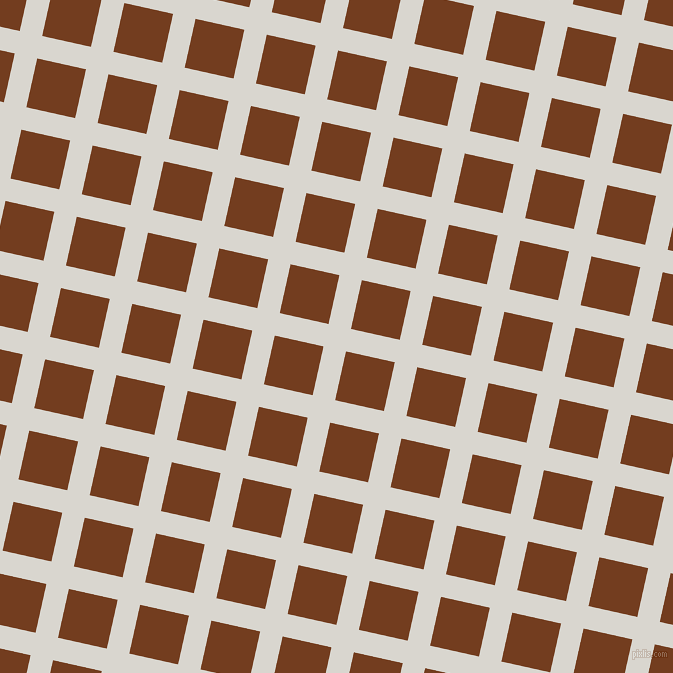77/167 degree angle diagonal checkered chequered lines, 23 pixel line width, 50 pixel square size, Timberwolf and Peru Tan plaid checkered seamless tileable