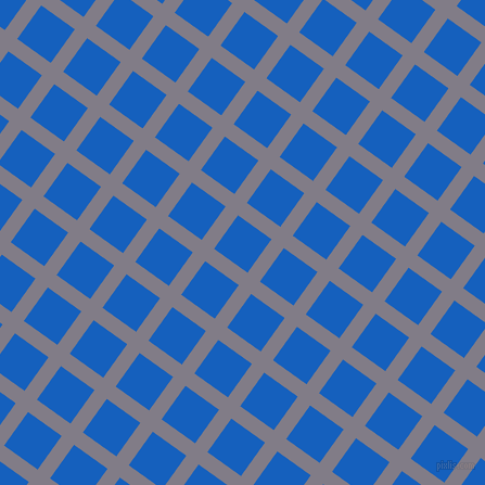 54/144 degree angle diagonal checkered chequered lines, 14 pixel line width, 38 pixel square size, Topaz and Denim plaid checkered seamless tileable