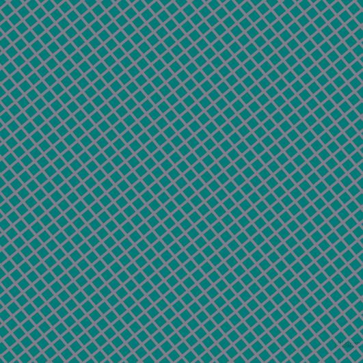 40/130 degree angle diagonal checkered chequered lines, 4 pixel lines width, 13 pixel square size, Topaz and Surfie Green plaid checkered seamless tileable
