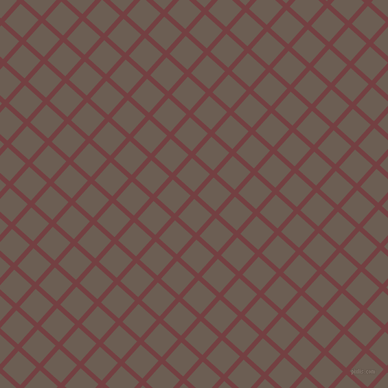 48/138 degree angle diagonal checkered chequered lines, 7 pixel lines width, 35 pixel square size, Tosca and Kabul plaid checkered seamless tileable