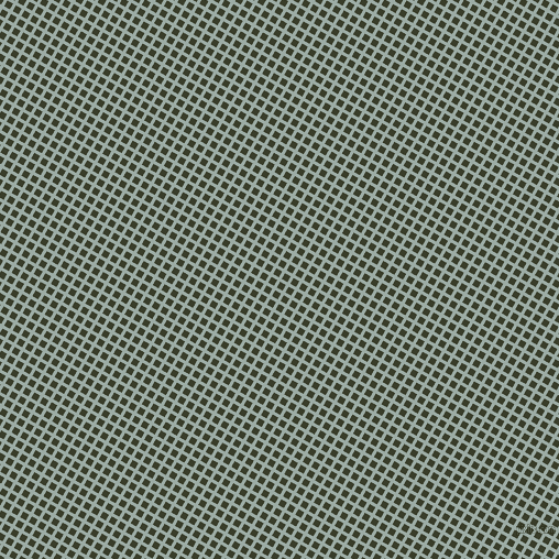 60/150 degree angle diagonal checkered chequered lines, 3 pixel lines width, 6 pixel square size, Tower Grey and Green Kelp plaid checkered seamless tileable