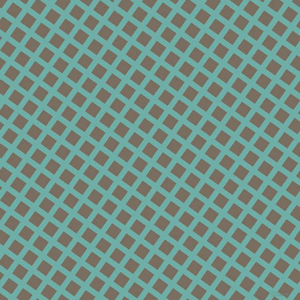 54/144 degree angle diagonal checkered chequered lines, 11 pixel lines width, 23 pixel square size, Tradewind and Sandstone plaid checkered seamless tileable
