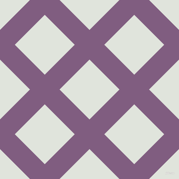 45/135 degree angle diagonal checkered chequered lines, 85 pixel line width, 172 pixel square size, Trendy Pink and Catskill White plaid checkered seamless tileable