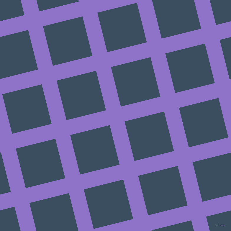 14/104 degree angle diagonal checkered chequered lines, 52 pixel lines width, 138 pixel square size, True V and Cello plaid checkered seamless tileable