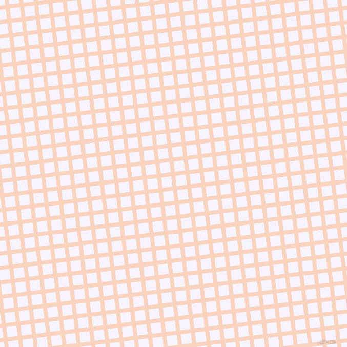 7/97 degree angle diagonal checkered chequered lines, 8 pixel line width, 20 pixel square size, Tuft Bush and Magnolia plaid checkered seamless tileable