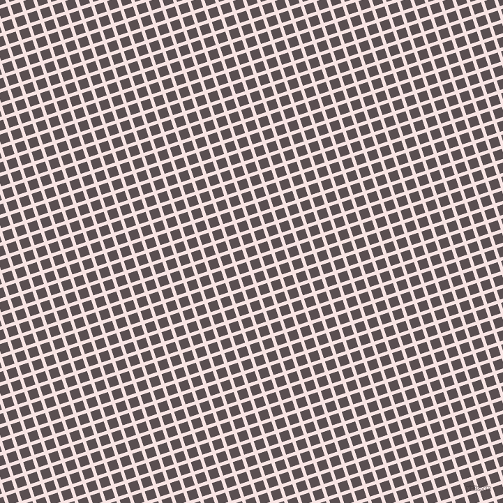 18/108 degree angle diagonal checkered chequered lines, 5 pixel line width, 14 pixel square size, Tutu and Don Juan plaid checkered seamless tileable