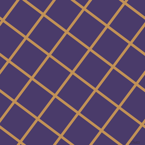 53/143 degree angle diagonal checkered chequered lines, 9 pixel line width, 90 pixel square size, Twine and Meteorite plaid checkered seamless tileable