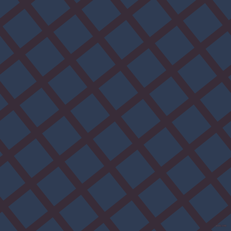 39/129 degree angle diagonal checkered chequered lines, 26 pixel lines width, 94 pixel square size, Valentino and Biscay plaid checkered seamless tileable