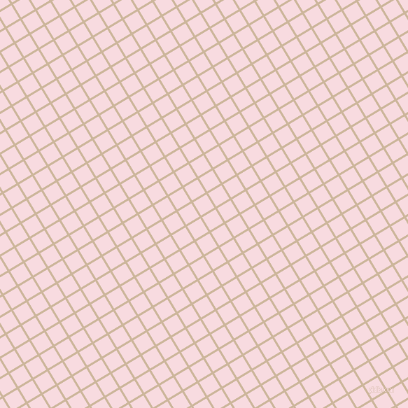 31/121 degree angle diagonal checkered chequered lines, 3 pixel lines width, 22 pixel square size, Vanilla and Carousel Pink plaid checkered seamless tileable