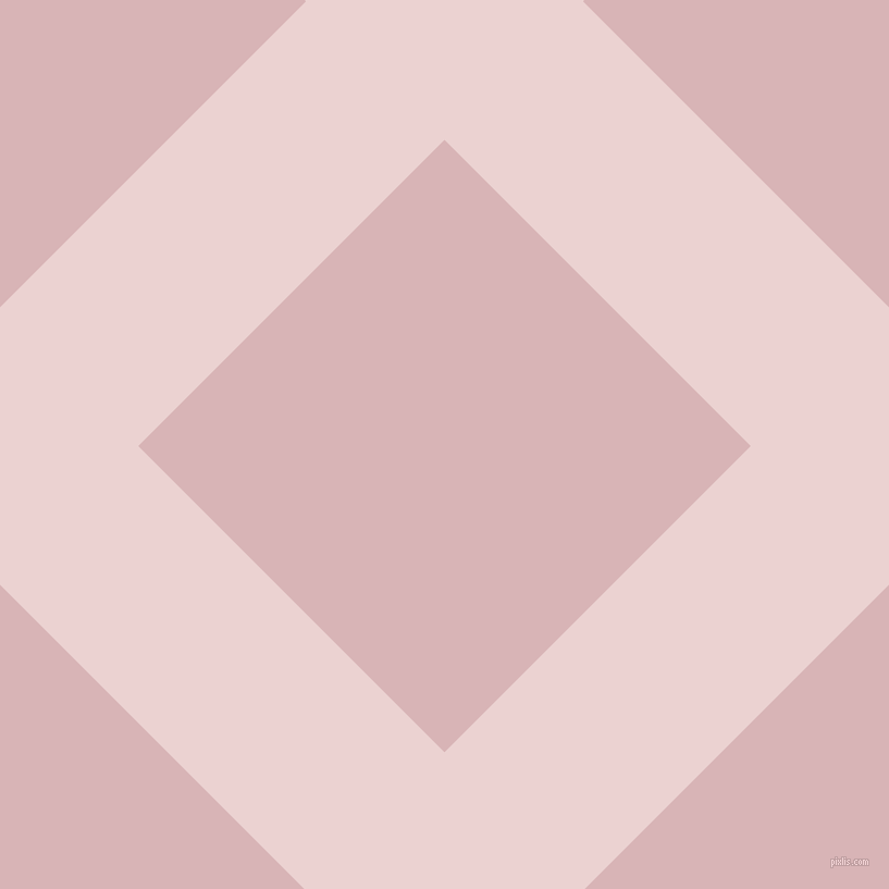 45/135 degree angle diagonal checkered chequered lines, 180 pixel line width, 398 pixel square size, Vanilla Ice and Pink Flare plaid checkered seamless tileable