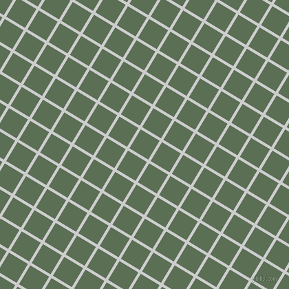 59/149 degree angle diagonal checkered chequered lines, 4 pixel lines width, 32 pixel square size, Very Light Grey and Cactus plaid checkered seamless tileable