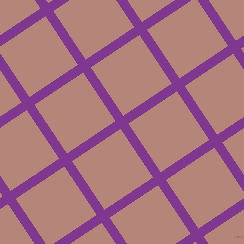 34/124 degree angle diagonal checkered chequered lines, 31 pixel lines width, 194 pixel square size, Vivid Violet and Brandy Rose plaid checkered seamless tileable